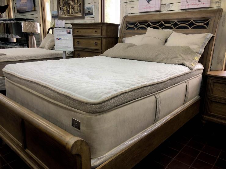 mattress pillowtop latex pat coslett simplicity furniture evansville