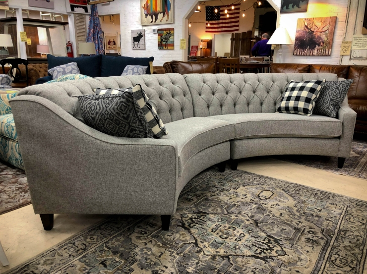 curved sectional sofa pat cosletts simplicity furniture evansville