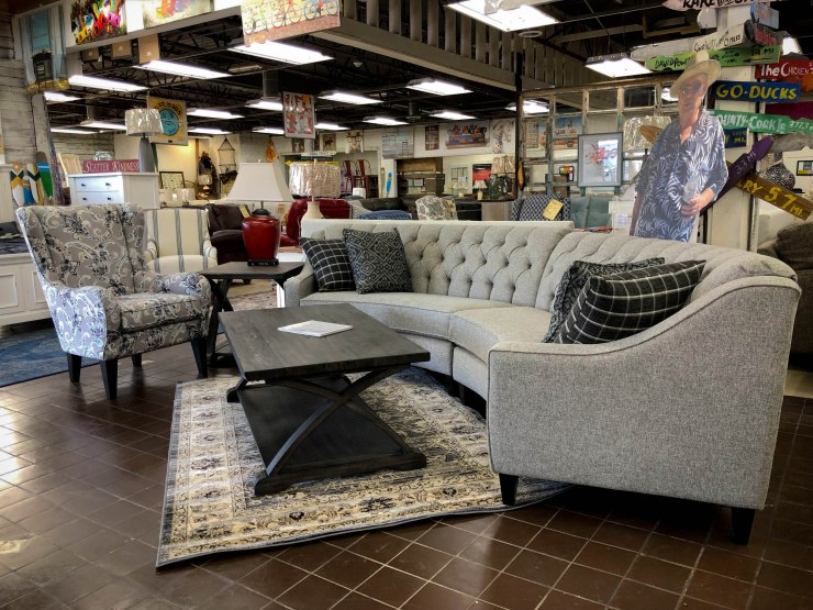crescent sectional sofa chair pat cosletts simplicity furniture evansville