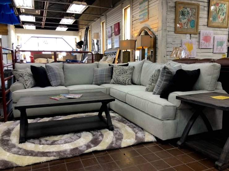 sectional sofa pillows pat cosletts simplicity furniture evansville