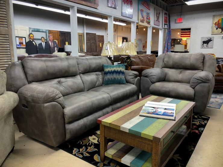 power sofa recliner pat cosletts simplicity furniture evansville