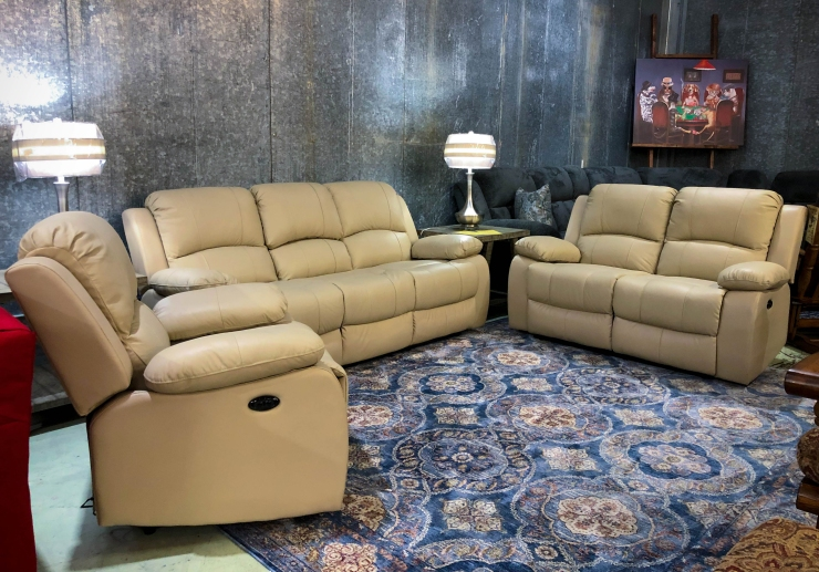 powered leather sofa loveseat chair pat cosletts simplicity furniture
