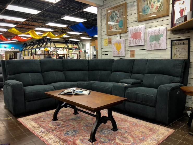 power sectional sofa pat cosletts simplicity furniture evansville