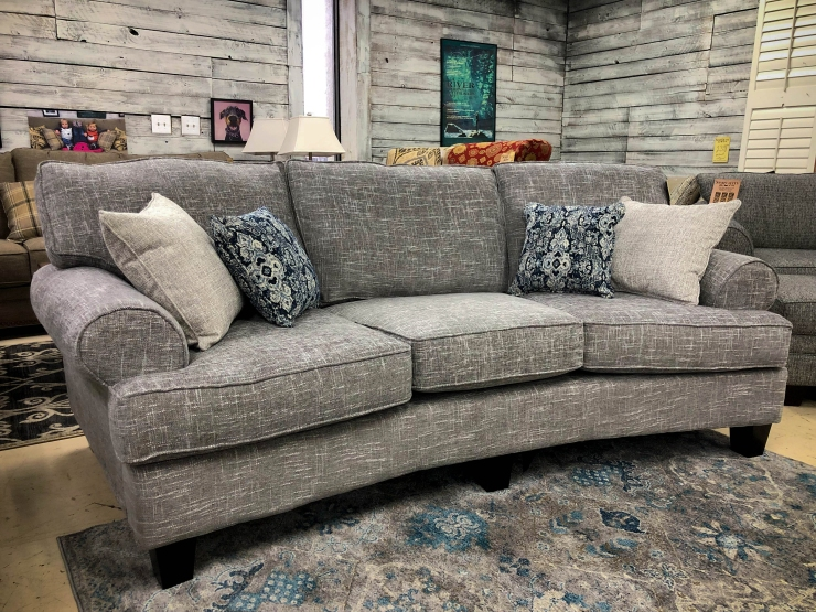 sofa couch pillows pat coslett simplicity furniture evansville