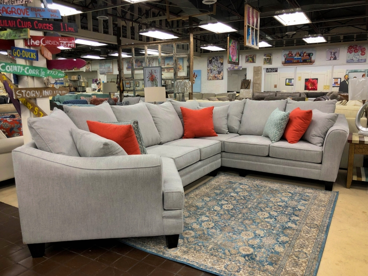 sectional sofa pat cosletts simplicity furniture evansville