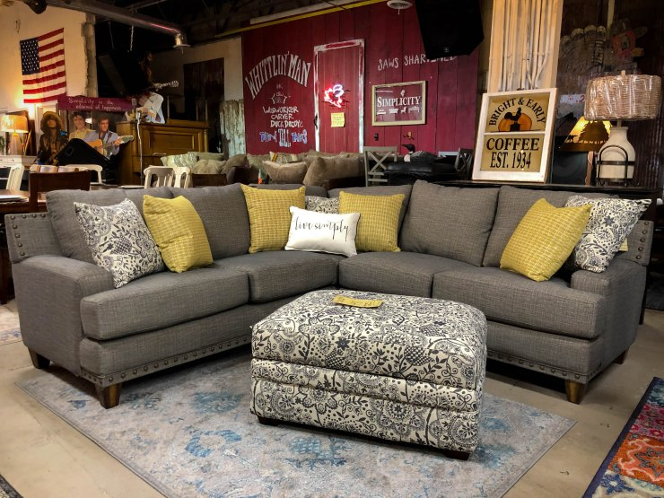 sectional sofa ottoman pat cosletts simplicity furniture evansville