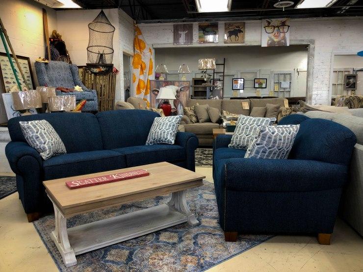 sofa loveseat pat cosletts simplicity furniture evansville