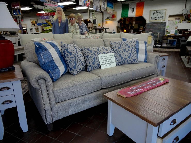 sofa pillows couch pat coslett simplicity furniture evansville