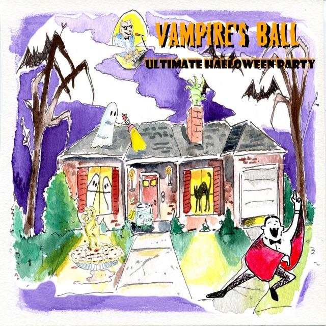 vampire ball album cover brad tassell pat coslett evansville