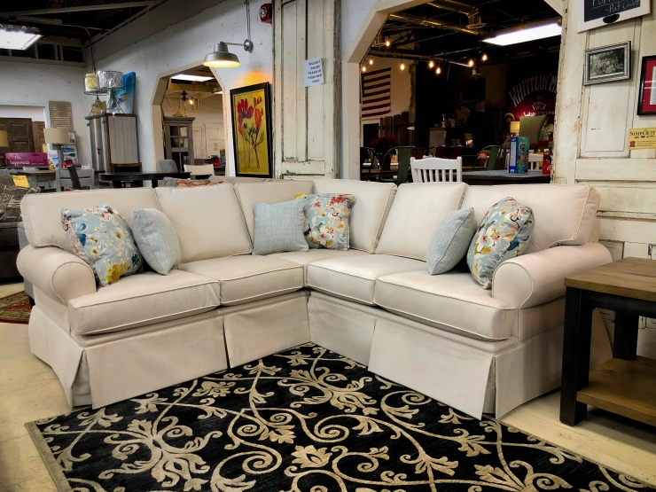sectional sofa couch pat coslett simplicity furniture evansville