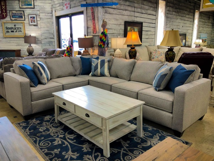 sectional sofa coffee table pillows pat coslett simplicity furniture evansville