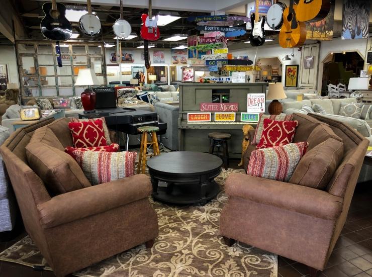 sofa guitar pat coslett simplicity furniture evansville